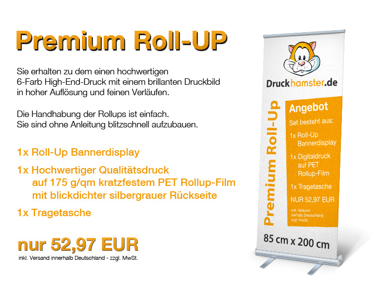 Roll-Up Angebot